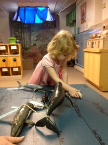 Playing in the Discovery Room