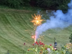 Backyard Fireworks